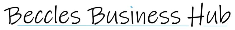 Beccles Business hub - White logo