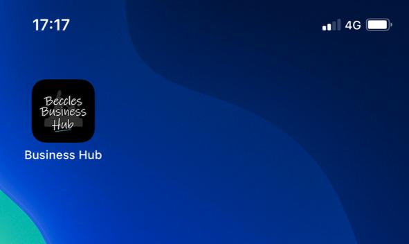 Beccles Business Hub mobile screen shot