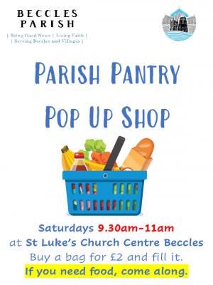 Parish Pantry poster